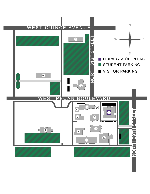 Campus Maps Library