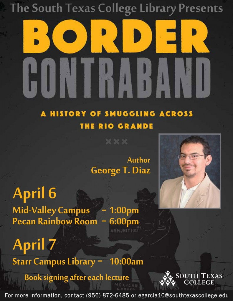 Flyer-GeorgeDiaz-BorderContraband